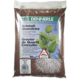 Грунт гравий Dennerle Kristall-Quarz 1-2мм светло-коричневый 10кг
