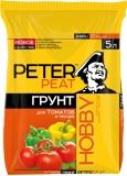 Грунт Peter Peat для томатов и перцев 5л