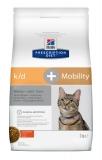 Hill's Prescription Diet k/d, Mobility Kidney, Joint CareСухой диетический корм для кошек для поддержания здоровья почек и суставов 2 кг