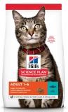 Hill's Science Plan Optimal Care сухой корм для взрослых кошек для поддержания жизненной энергии и иммунитета, с тунцом, 300 г