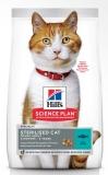 Hill's Science PlanSterilised cухой корм для молодых стерилизованных кошек и кастрированных котов , с тунцом, 300 г