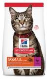 Hill's Science Plan Optimal Care сухой корм для взрослых кошек для поддержания жизненной энергии и иммунитета, с уткой, 1,5 кг