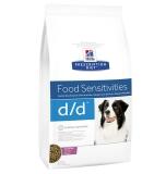 Hill's Диета d/d лечение пищевой аллергии Утка рис 2кг