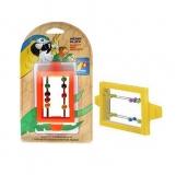 Игрушка для птиц Penn-Plax зеркало с бусинами