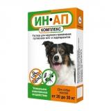 Ин-Ап Капли от блох и клещей для собак 20-30 кг