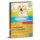 Kiltix Ошейник от блох и клещей для крупных собак Bayer