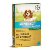 Kiltix Ошейник от блох и клещей для мелких собак Bayer