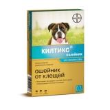 Kiltix Ошейник от блох и клещей для средних собак Bayer