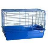 Клетка для кроликов №1 с кормушкой для сена Кредо