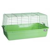 Клетка для кролика №1 с кормушкой для сена Кредо