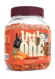 Little One Сушеная морковь лакомство для грызунов 200г