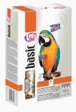 LOLO PETS BASIC корм для крупных попугаев полнорационный 900г