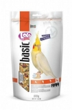 LOLO PETS BASIC корм для средних попугаев полнорационный дойпак 600г