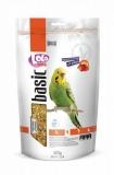 LOLO PETS BASIC корм для волнистых попугаев фруктовый дойпак 600г