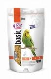 LOLO PETS BASIC корм для волнистых попугаев полнорационный дойпак 600г