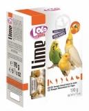 LOLO PETS минеральный камень для декоративных птиц с апельсином XL 190г