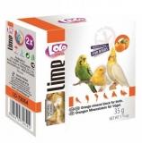 LOLO PETS минеральный камень для птиц с апельсином 35г