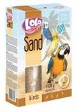 LOLO PETS песок для птиц с ракушками 1500г