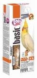LOLO PETS Smakers для средних попугаев с орехами 90г