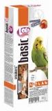LOLO PETS Smakers для волнистых попугаев с фруктами 90г