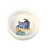 Миска керамическая с рисунком Trixie 0,3л