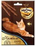 Мнямс Деликатес лакомые палочки 9см для кошек с камбалой 3*4г