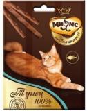 Мнямс Деликатес лакомые палочки 9см для кошек с тунцом 3*4г