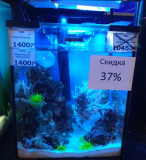 Оформленный аквариум Nano reef