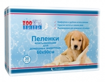 Пеленки Зооняня Комфорт 60х90 (30 шт)