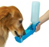 Поилка портативная для собак 0,5л