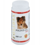Polidex Polivit-Ca Plus 500табл