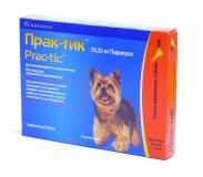 Практик Капли от блох и клещей для собак 2-4,5 кг 1амп