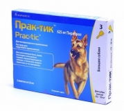 Практик Капли от блох и клещей для собак 22-50 кг 1амп
