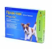 Практик Капли от блох и клещей для собак 4,5-11 кг 1амп