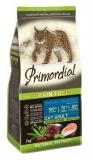 PRIMORDIAL корм сухой для кошек беззерновой лосось тунец 0,4кг