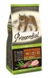 PRIMORDIAL корм сухой для кошек беззерновой утка индейка 2кг