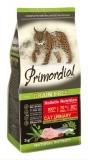 PRIMORDIAL корм сухой для кошек с МКБ беззерновой индейка сельдь 0,4кг