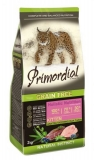 PRIMORDIAL корм сухой для котят беззерновой утка индейка 2кг