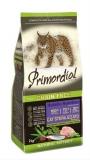 PRIMORDIAL корм сухой для стерилизованных кошек беззерновой индейка сельдь 0,4кг