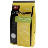 Pro Balance Immuno корм для взрослых кошек с курицей и индейкой 10кг