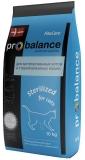 Pro Balance Sterilized для стерилизованныхкошек и кастрированных котов 10 кг