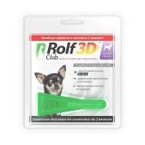 Rolf Club 3D Капли от клещей и блох для собак до 4кг
