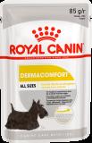 Royal Canin Dermacomfort паштет для собак с чувствительной кожей 85г