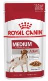 Royal Canin Medium Adult для взрослых собак средних пород в соусе 140г