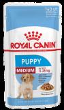 Royal Canin Medium Puppy для щенков средних пород в соусе 140г