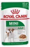 Royal Canin Mini Adult  для взрослых собак малых пород в соусе 85г