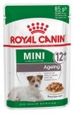 Royal Canin Mini Ageing 12+ для собак малых пород старше 12 лет в соусе 85г