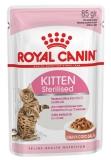Royal Canin Sterilised Kitten для стерилизованных котят в соусе 85г