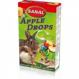 Дропсы Яблочные Sanal для грызунов 45гр