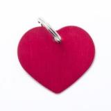 Адрессник Сердце большое красное